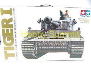 Tamiya-1-16-R-C-GERMAN-TIGER-I-Tank-Kit-WWII-w-DMD-MF-Unit-56010-NIB
