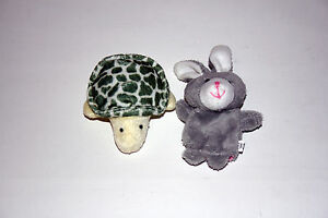 The Tortoise and The Hare finger puppets Fairy tale Nursery Rhymes Story telling