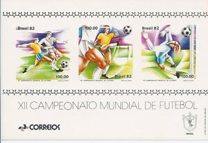 Brazil 1982 - Sports World Soccer Cup Championships Spain 82 - Sc 1789 MNH