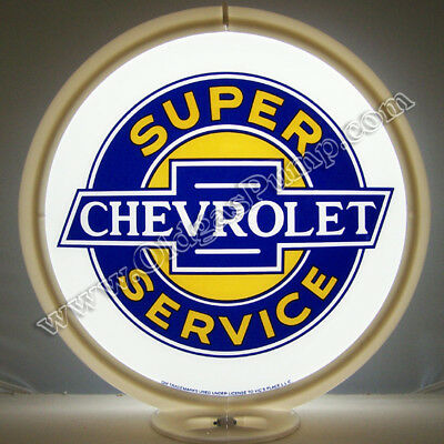 CHEVROLET SS SUPER SERVICE GAS PUMP GLOBE G-112 Free Shipping to Lower 48