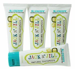 Jack-N-Jill-infantil-Organico-Natural-Dentifrico-BLUEBERRY-4x50g-sin-fluor