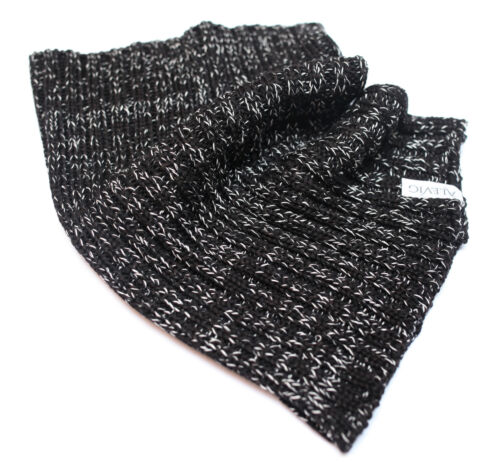 Merino Wool Men Neck Warmer Gaiter Tube Scarf Snood by Alevig Made in Estonia Pe