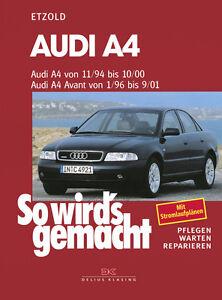 AUDI-A4-B5-AVANT-REPARATURBUCH-Reparaturanleitung-Jetzt-helfe-ich-mir-selbst