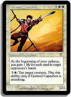 Gerrard Capashen Apocalypse NM White Rare MAGIC THE GATHERING CARD ABUGames