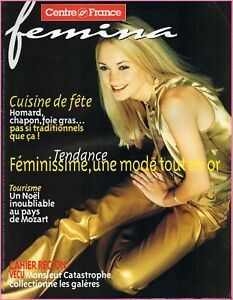 Bien Informé ▬► Femina Hebdo - N°210 Du 10 Décembre 2000 - Benoît Magimel Pour Assurer Des AnnéEs De Service Sans ProblèMe