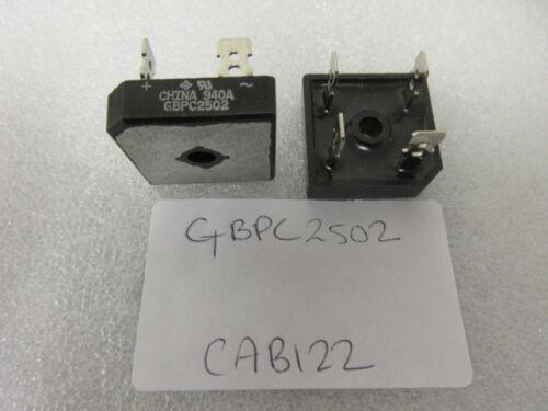 200 V 1.1 V Module Single Bridge Rectifier Diode 4 Pins GBPC2502 . 25 A