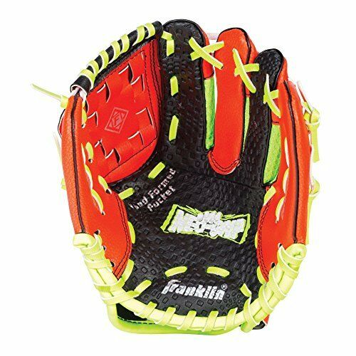 NEUF FRANKLIN Sports Neo Grip Teeball gants rouge main droite Throw 9 NAVIRES GRATUIT
