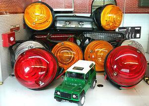 Land-Rover-Serie-3-PROTECTOR-OEM-WIPAC-Completo-Juego-Luces-incluyendo-Niebla-amp