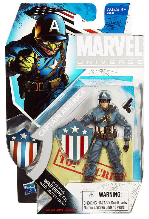 Marvel Universe 5 Inch Action Figure Exclusive - WWII Captain America SDCC 2010