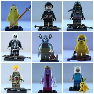Soldier-Adventure-Time-SpongeBob-Video-Game-Cartoon-Super-lego-Mini-Figures