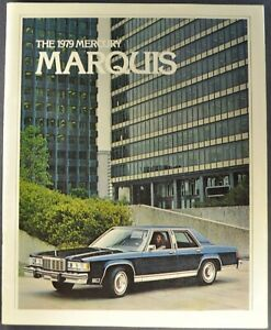 1979 Mercury Marquis Brochure Grand Brougham Hardtop Wagon Nice Original 79
