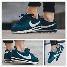 BNIB Womens UK 7 Nike Classic Cortez TXT Textile Trainers Shoes 844892-300
