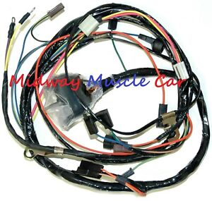 details about hei engine wiring harness 70 71 chevy camaro nova ss 302 427 350 396 Wiring Harness Terminals and Connectors