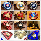 Metal Fidget Hand Finger Spinner Surperman Captain America Iron Man Batman Toy