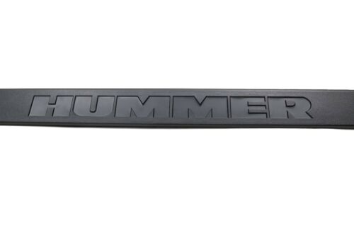 OEM NEW Rear Bumper Cover w// Logo 03-05 Hummer H2 Genuine 12335667