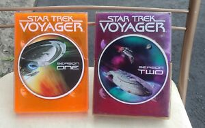 Star-Trek-Voyager-Seasons-1-amp-2-DVD-Used