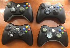 OEM Official Genuine Microsoft xbox 360 Wireless Controller (Glossy Black)