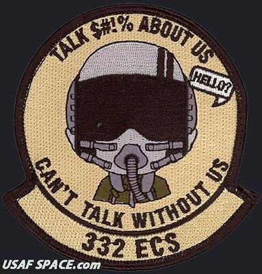 USAF 332ND EXPEDITIONARY COMMUNICATIONS SQ-CAN/'T TALK WITHOUT US Balad AB PATCH