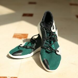 wholesale dealer 34d96 34bf5 Details about New Adidas EQT Trainers, size 11 UK, Green/Black/White