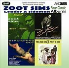 Stretching Out/Starring Zoot/Downhome/Jazz Soul of Porgy and Bess by Zoot Sims (CD, Jun-2012, 2 Discs, Avid Jazz)