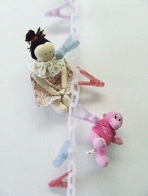 Chain Gang Stuffed Animal Chain Toy Organizer Pastel