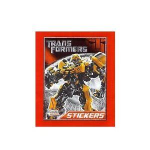 Transformers-Adesivi-collezione-Album-di-figurine-Rosso-Optimus-Prime-Cover