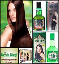 Ayurvedic Kesh King Herbal Hair Loss Treatment Packet Oil Shampoo Capsules