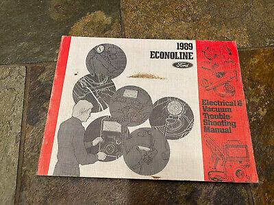 1989 ford econoline van wiring diagrams electrical service manual | ebay  ebay