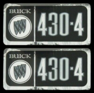 1967 68 69   BUICK 430-4V VALVE COVER DECAL