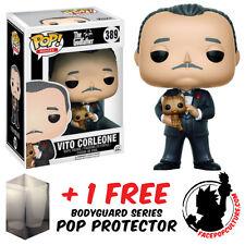 FUNKO POP GODFATHER VITO CORLEONE VINYL FIGURE + FREE POP PROTECTOR