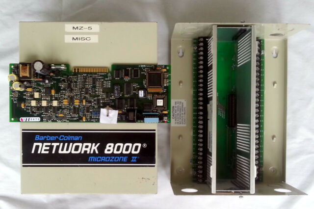 Network 8000 Barber Coleman Invensys MZ2A 102 0 1 1 LCM Microzone II Controller