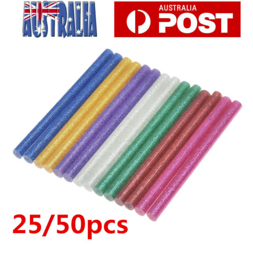 2550X GLITTER Hot Melt Glue Adhesive Sticks Glue Gun Craft Tool Heat 7mm100mm