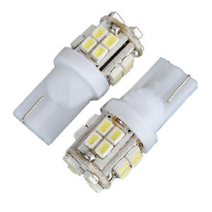 Car-LED-White-Cool-Cold-Number-Plate-Parking-Light-Bulbs-Globes