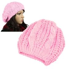 ff98f429b1b New Unisex Womens Mens Winter Warm Knit Beret Hat Beanie Crochet Ski Baggy  Cap