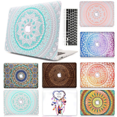 "Crystal Hard Case house + Keyboard Cover For MacBook Air 11"" 13"" Pro 12 inch 15"""