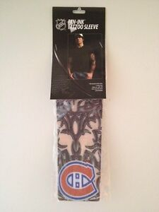 MONTREAL-CANADIENS-NHL-Fan-Ink-Tattoo-Sleeve-Reusable-Stretchy-Looks-Real-NIB