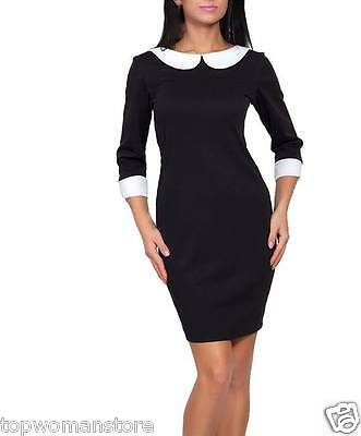 Top Womens Vintage Office Wear To Work Party Bodycon Pencil Career Dresses