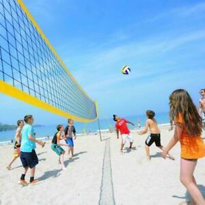 Federballnetz volleyballnetz badmintonnetz tennisnetz Entraînement réseaux - 9.5x1m *
