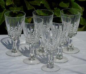Détails sur Villeroy et Boch Service de 6 verres à vin rouge en cristal, modèle Mexico