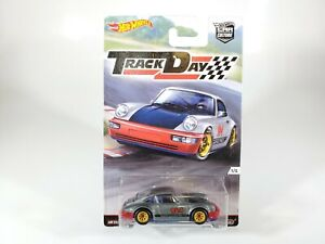 Hot-Wheels-Car-Culture-Track-Day-Porsche-964-NEW-in-Protecto-Pak-1-64-Diecast
