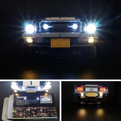 Für Lego 10265 Für Ford Mustang ONLY LED Licht Beleuchtungs Set w// Batterie