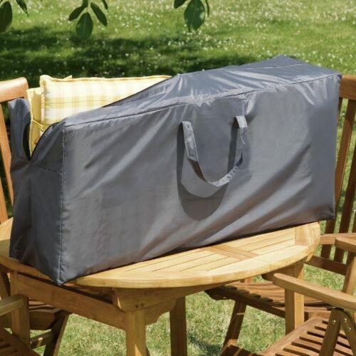 Wehncke Schutzhülle für Garten Hochlehner Sitzkissen Tragetasche 125x32x50cm