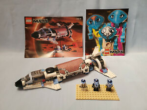 LEGO-Space-Life-on-Mars-7315-Solar-Explorer-Complete-Instructions-All-Figs