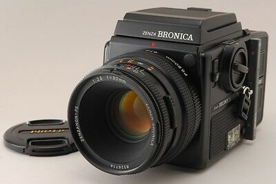 2975#GC Bronica SQ-Ai Film Camera with 80mm lens Near Mint