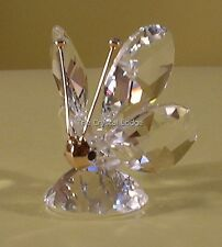"""SWAROVSKI CRYSTAL MINI BUTTERFLY """"MASK"""" FACE/NOSE 012774 MINT BOXED RETIRED RARE"""