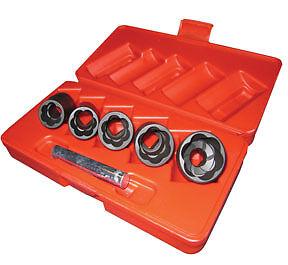 "Access Tools 1//2/"" Dr Damaged Lug Nut and Lock Remover Twist Socket Set #EO"