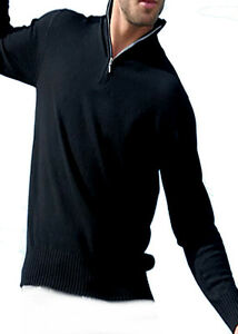 Pullover Troyer 2 Black Fädig cashmere 100 Balldiri da Xs uomo rXqwYarv