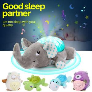 Cute-Animals-Music-LED-Night-Light-Projector-Remote-Lamp-Baby-Sleep-Gift-UK-Ship