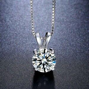 0-50-Ct-Round-Cut-VVS1-D-Diamond-Solitaire-Pendant-14K-White-Gold-Over