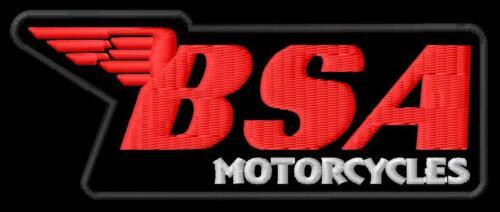 BSA Motorcycles 500 Gold Star A 50 Royal 65 Lightning iron-on ...